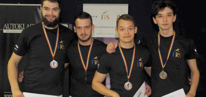 Două medalii la Campionatul Național de Floretă