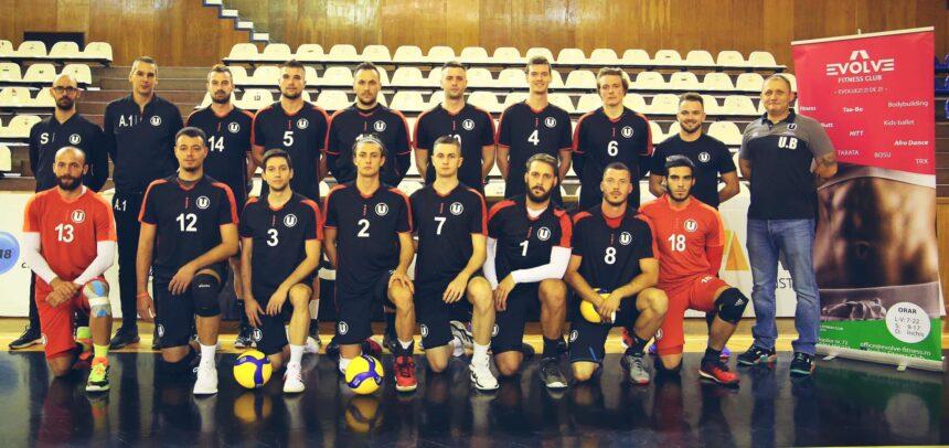 Debut și în Cupa României la volei masculin