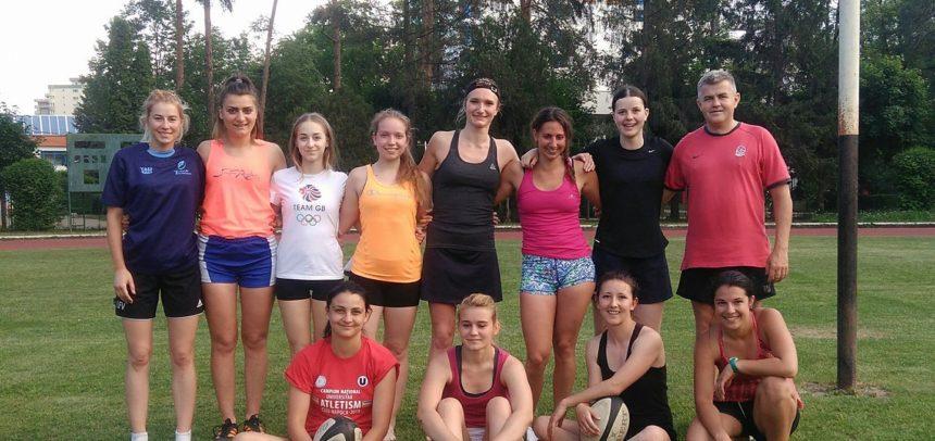 Rugby feminin, sâmbătă, în Parcul Babeș