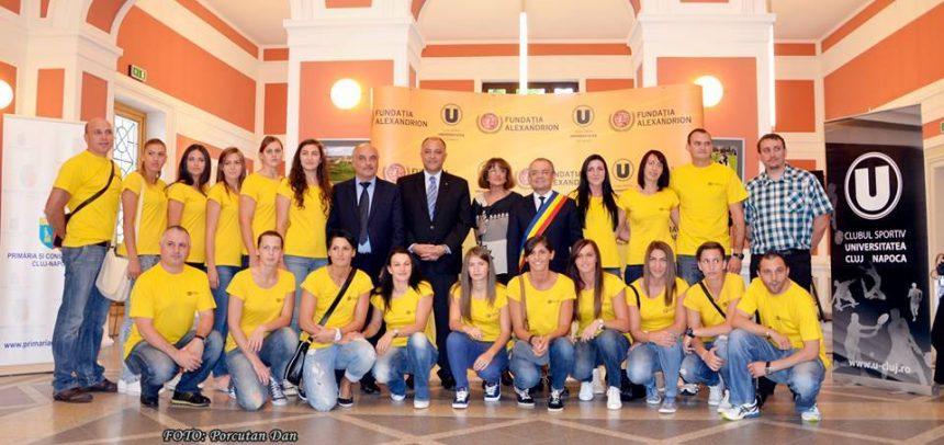 "Lansare parteneriat ""U"" Alexandrion"