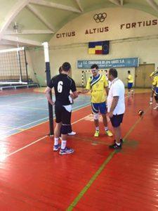 Meci de pregătire la Dej pentru voleibaliști