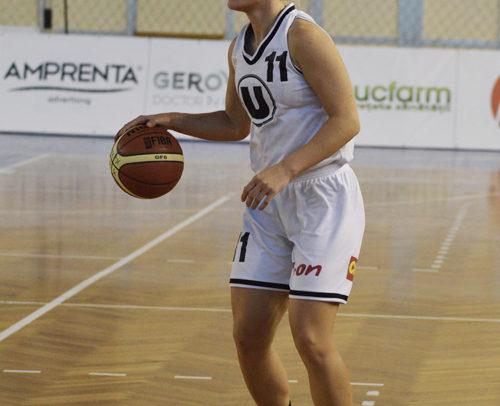 Gabriela Irimia a fost convocată la echipa națională de baschet feminin
