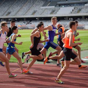 A doua etapă a CN de Atletism, la București