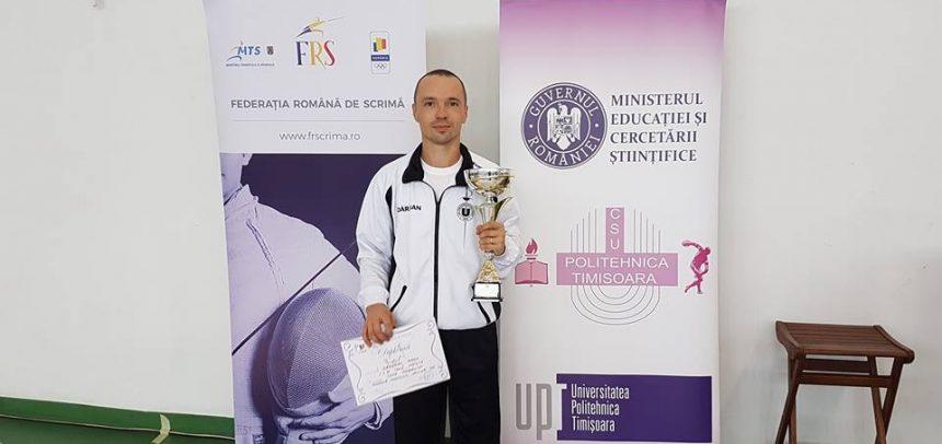Cupa României la floretă masculin individual a venit la Cluj