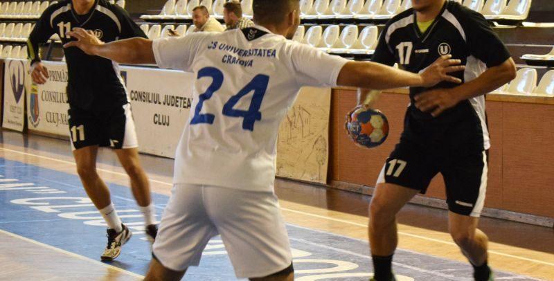 Mecil dificil la Oradea pentru handbaliști