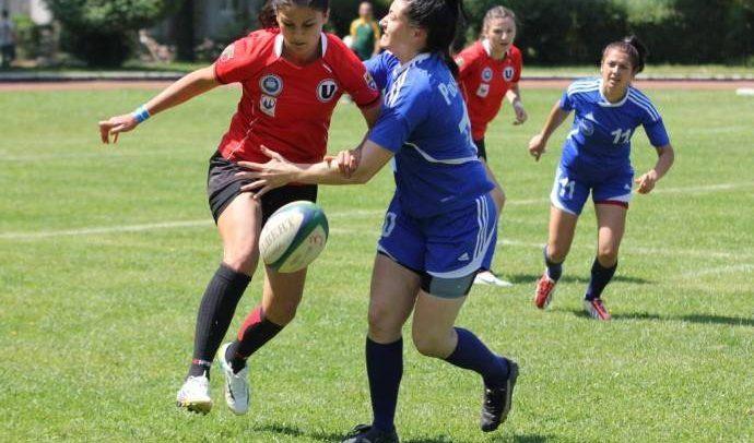 Ultima etapă de Rugby 7 feminin are loc la Mihai Viteazu