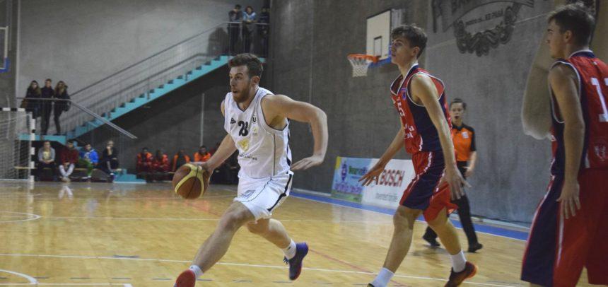 Formația de baschet masculin, duel acasă împotriva CN Aurel Vlaicu