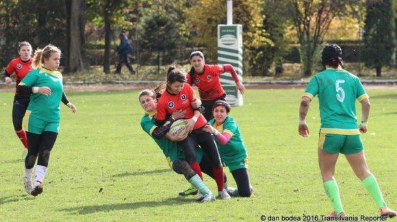 CS Agronomia, învingătoarea etapei a V-a din CN de Rugby 7 feminin