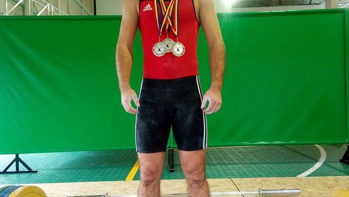 Marian Bîlc, vicecampion național de seniori