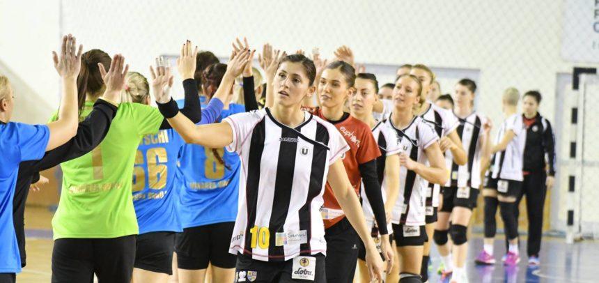 Handbalistele încheie campionatul pe teren propriu
