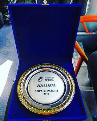 Argint la Cupa României pentru rugbyste