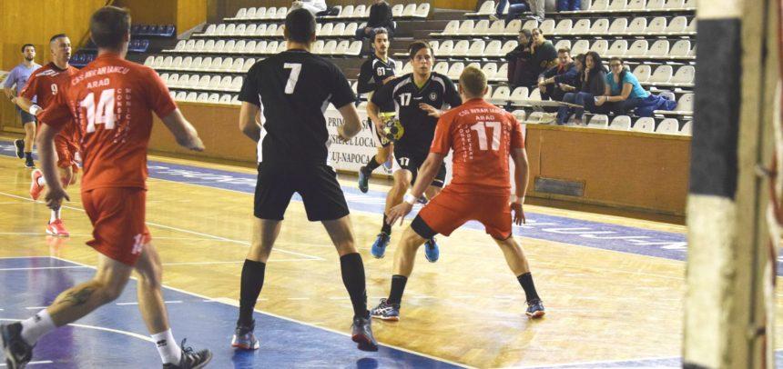Handbaliștii au pierdut la Sighișoara