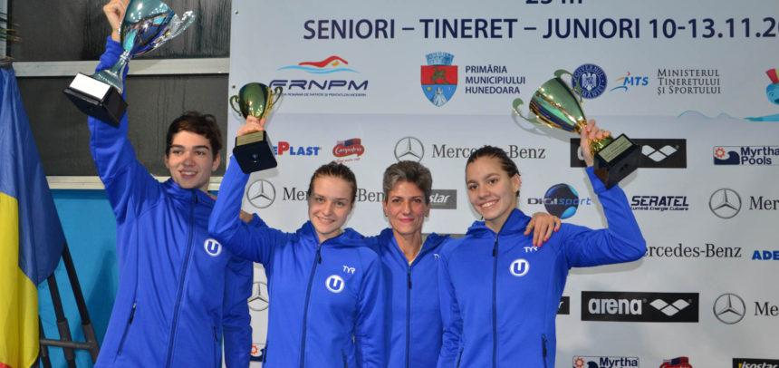 Cantonament în Bulgaria pentru două sportive ale secției de natație