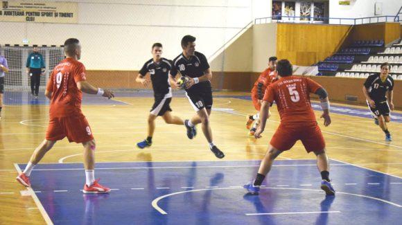 Echipa de handbal masculin, debut cu dreptul în Divizia A
