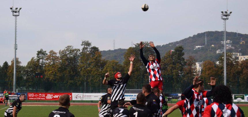 Rugbyștii au cedat pe terenul celor de la Dinamo