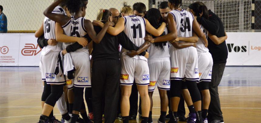 Echipa de baschet feminin începe seria meciurilor amicale