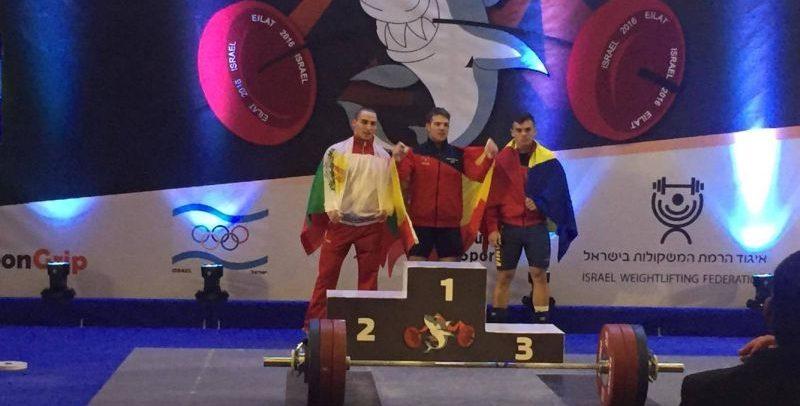 Suiugan a cucerit trei medalii de bronz la Campionatul European