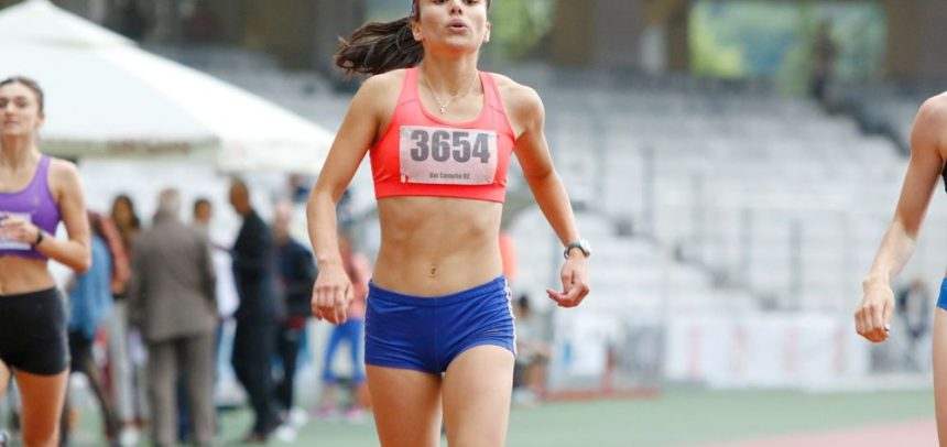 Atleta Camelia Gal concurează la International Outdoor Meetings