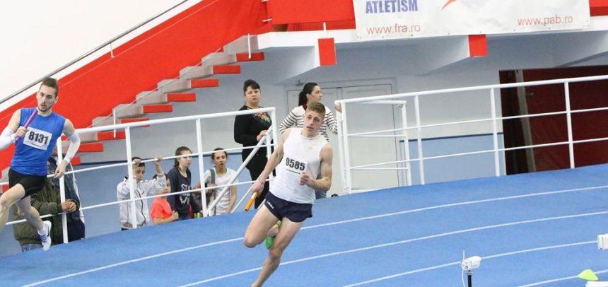 12 atleți universitari aleargă pentru medalii la București