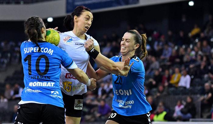 Echipa de handbal feminin a pierdut la limită disputa cu CSM Bistrița