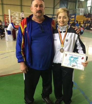 Medalie de bronz la Cupa României de Box Feminin