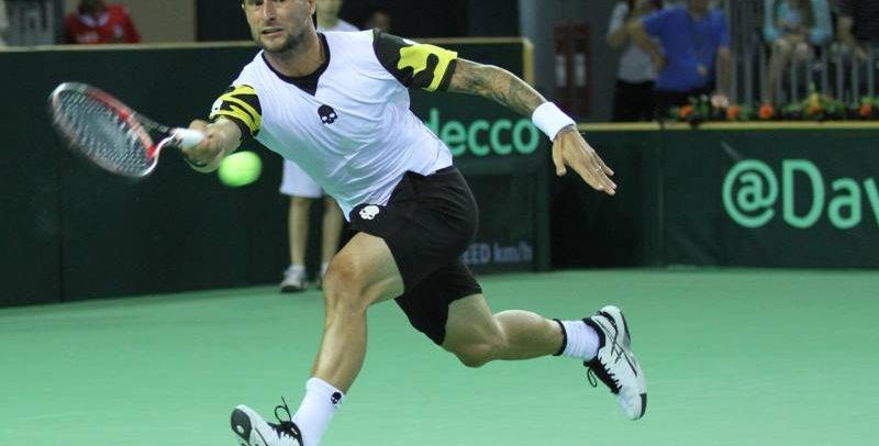 Adrian Ungur participă la Cupa Davis
