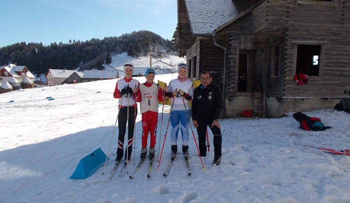 Tinerii schiori din Munții Apuseni