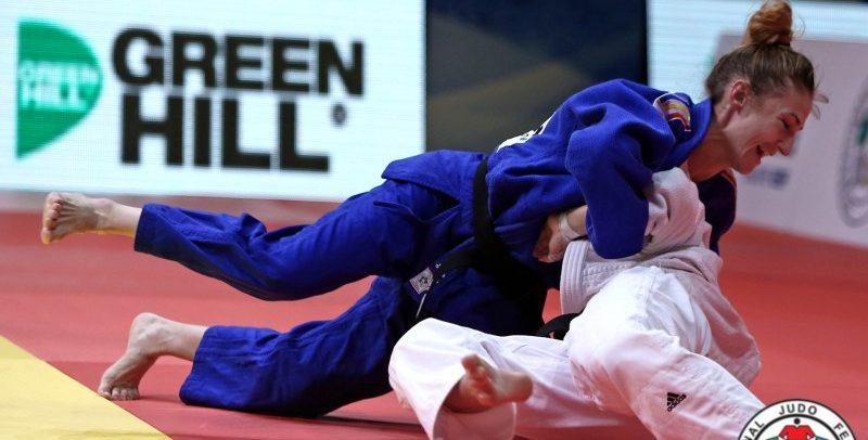 """Două judoka de la """"U"""", la Tbilisi Grand Slam"""