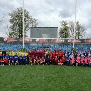 Campionatul Național de rugby 7 feminin continuă la Pașcani