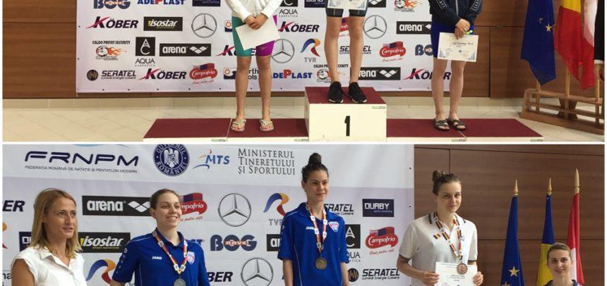 9 medalii la Campionatele Internaționale de înot