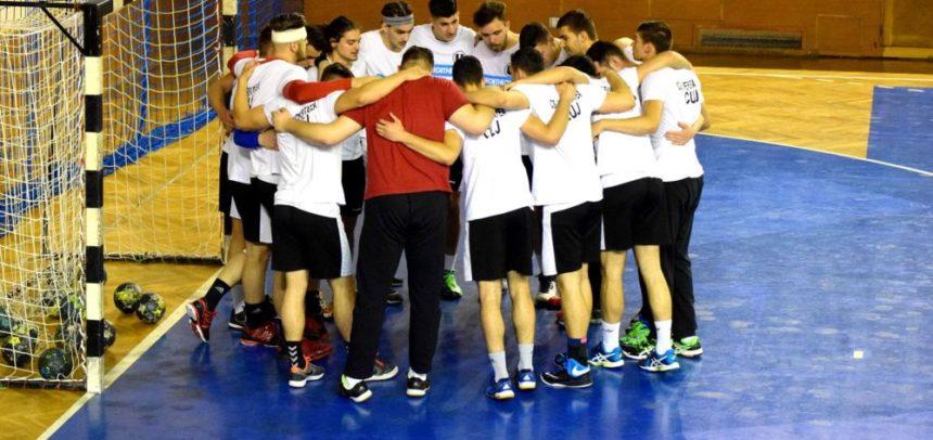 Meciuri de pregătire la Baia Mare pentru handbaliștii universitari