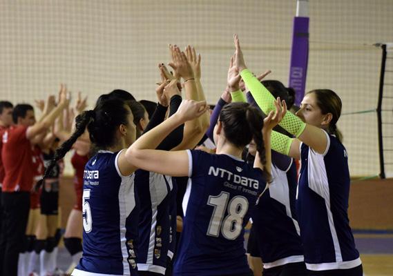 Echipa de volei feminin, gata să lupte pentru promovarea în Divizia A1