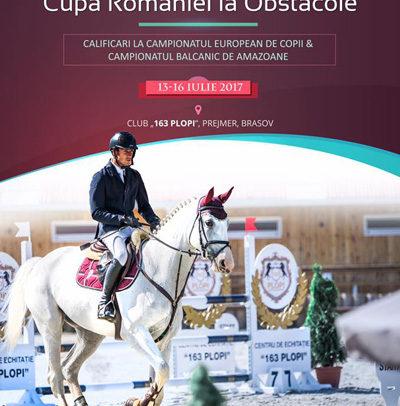Sportivii secției de echitație participă la Cupa României la Obstacole