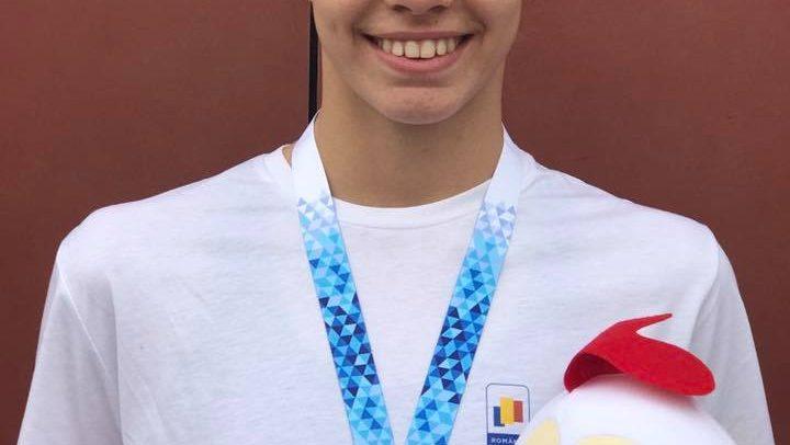 Bronz pentru Ana Dascăl la Festivalul Olimpic al Tineretului European