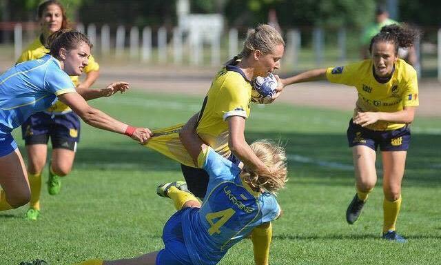 Ghindele în careul de ași al Rugby Europe Women's Sevens Trophy