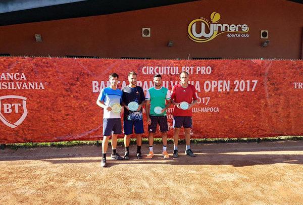 Alex Jecan, victorios în proba de dublu la Banca Transilvania Open
