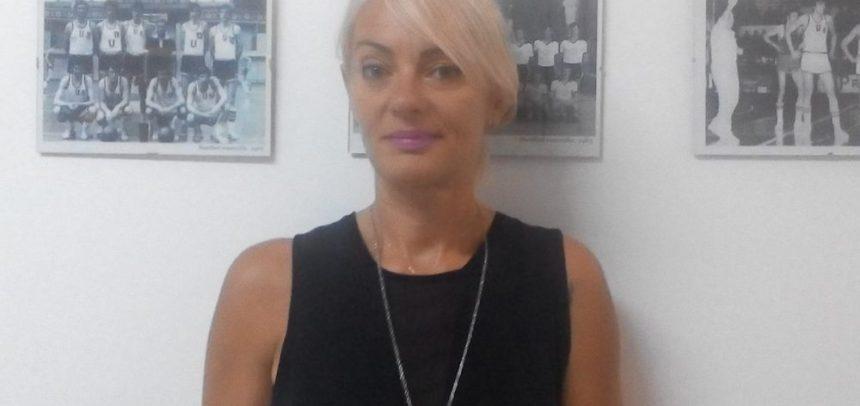 Luminița Trombițaș, antrenorul secund al echipei feminine de volei
