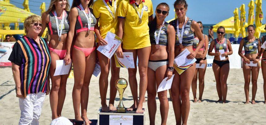 Ariton/Bucur, medalie de bronz la volei pe plajă