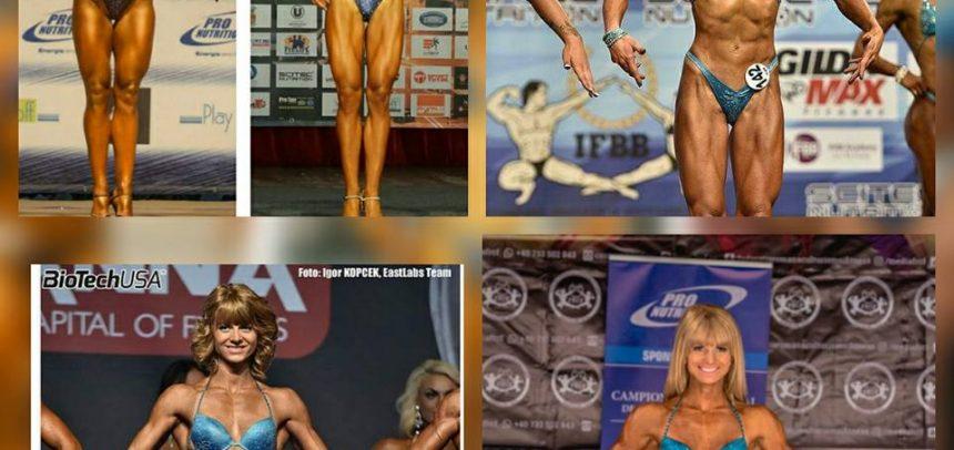 Opt sportivi universitari își încoardă mușchii la Sibiu