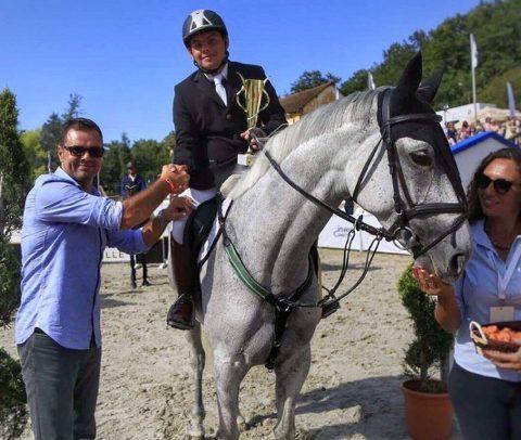 Paul Ionescu s-a clasat pe locul 3 la Finala CN Cai 7 Ani