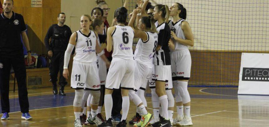 Echipa de baschet feminin joacă mâine la Timișoara