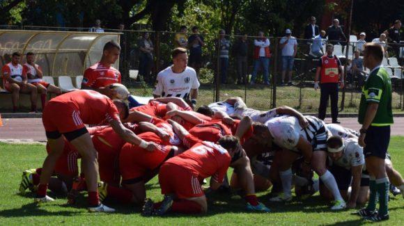 Rugbyștii au pierdut meciul de pe teren propriu