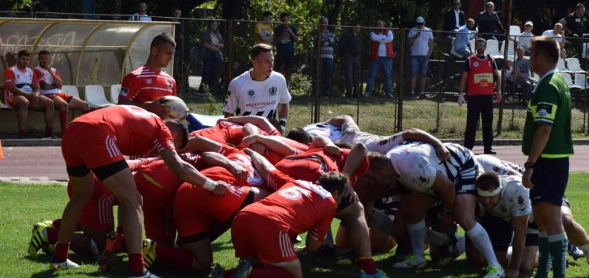 Rugbyștii joacă etapa a IV-a contra dinamoviștilor