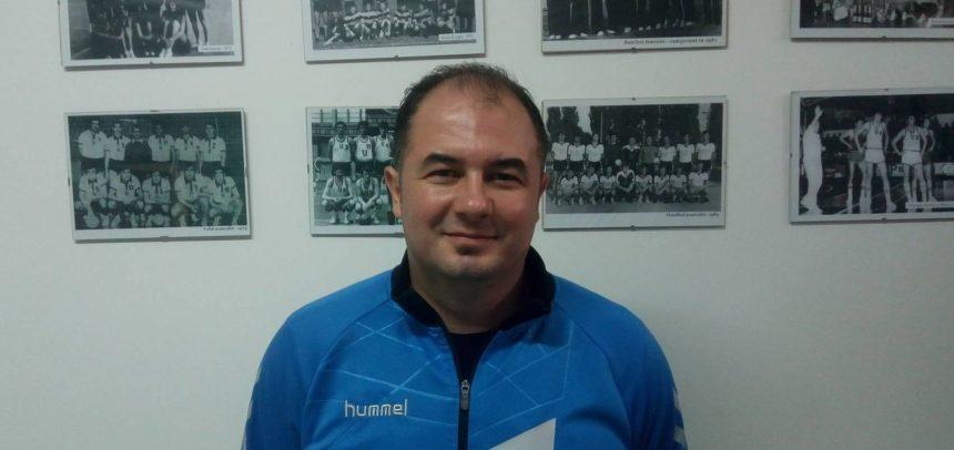 Alin Bondar este noul antrenor al echipei de handbal feminin