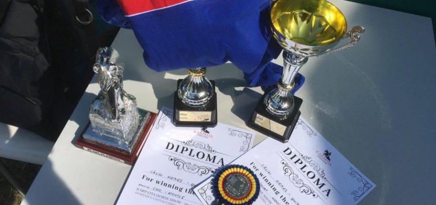 Călin Nemeș, medalie de aur și argint la Karpatia Horse Show