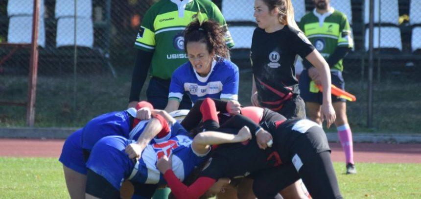 Etapă de rugby feminin la Cluj
