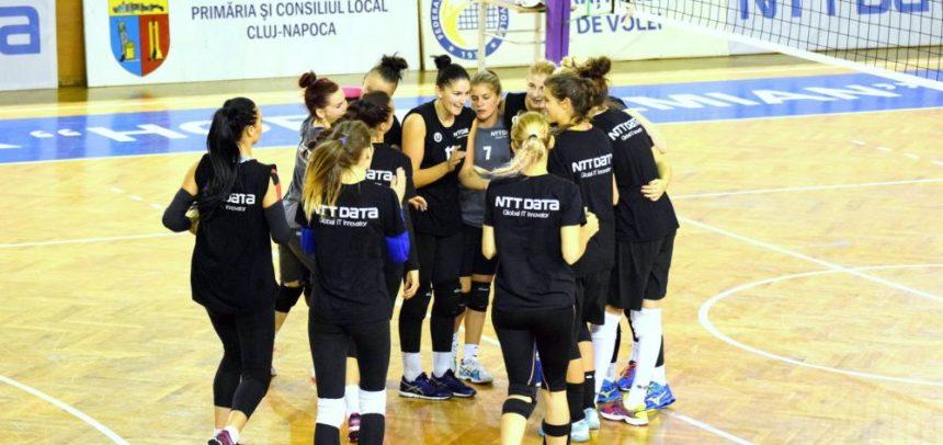 """U"" NTT DATA Cluj participă la un turneu amical la Jászberény"