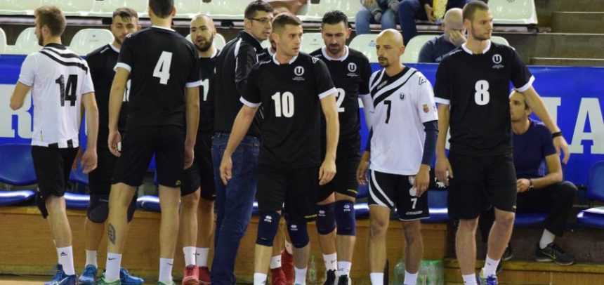 Meci la Timișoara pentru voleibaliștii universitari