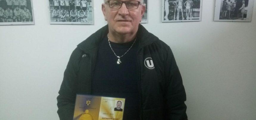 "Iosif Hercz a primit titlul de ""Antrenor Emerit"""