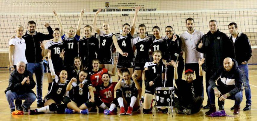 """Victorie la final de an pentru """"U"""" NTT Data Cluj"""